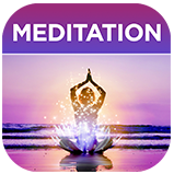 Calming Meditation Oasis App Icon