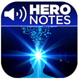 The Power of Positive Thinking Hero Notes App Icon