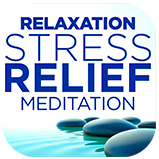 Stress Relief Meditation App Icon
